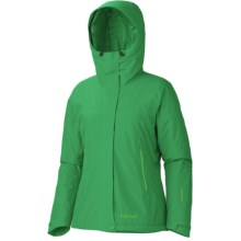 Marmot Fulcrum Gore-Tex® Performance Shell Jacket - Waterproof, Insulated (For Women) in Dark Fern - Closeouts