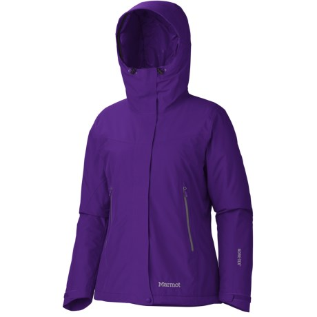 Marmot Fulcrum Gore-Tex® Performance Shell Jacket - Waterproof, Insulated (For Women) in Deep Purple