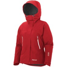 Marmot Fulcrum Gore-Tex® Performance Shell Jacket - Waterproof, Insulated (For Women) in Team Red - Closeouts