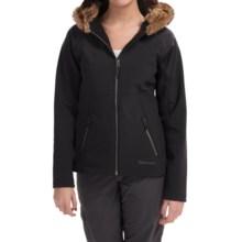 Marmot Furlong Soft Shell Jacket (For Women) in Black - Closeouts