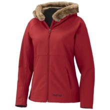 Marmot Furlong Soft Shell Jacket (For Women) in Dark Red - Closeouts