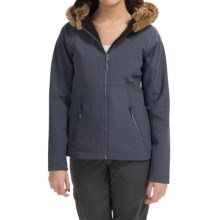 Marmot Furlong Soft Shell Jacket (For Women) in Warm Mocha - Closeouts