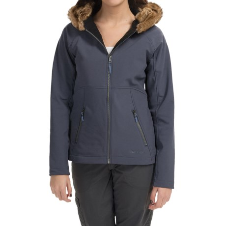 Marmot Furlong Soft Shell Jacket (For Women) in Dark Steel