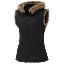 Marmot Furlong Soft Shell Vest (For Women) in Black - Closeouts