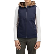 Marmot Furlong Soft Shell Vest (For Women) in Midnight Navy - Closeouts