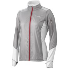 Marmot Fusion Jacket (For Women) in Silver/White - Closeouts