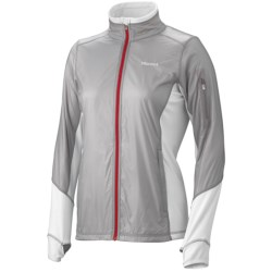 Marmot Fusion Jacket (For Women) in Silver/White