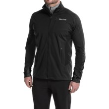 Marmot Fusion Soft Shell Jacket (For Men) in Black - Closeouts