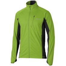 Marmot Fusion Soft Shell Jacket (For Men) in Green Lichen/ Slate Grey - Closeouts