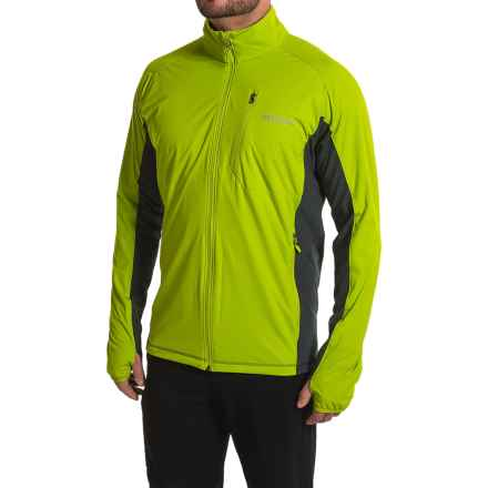 Marmot Fusion Soft Shell Jacket (For Men) in Green Lichen/Slate Grey - Closeouts