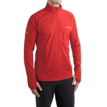 Marmot Fusion Soft Shell Jacket (For Men) in Team Red - Closeouts