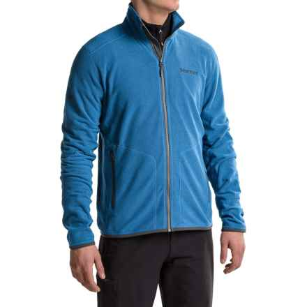 Marmot Garwood Fleece Jacket (For Men) in Blue Sapphire - Closeouts