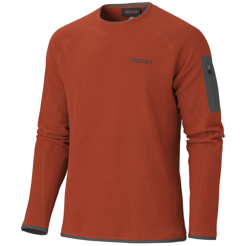 marmot garwood fleece shirt long sleeve for men
