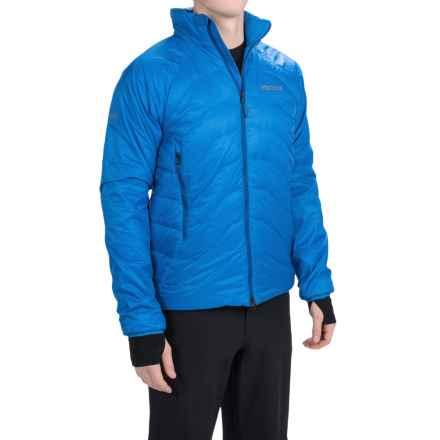 Marmot Gigawatt Polartec® Alpha® Down Jacket - 800 Fill Power (For Men) in Cobalt Blue - Closeouts