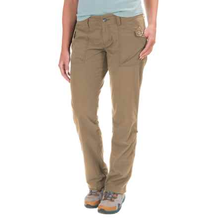 Marmot Ginny Roll-Up Hiking Pants - UPF 30 (For Women) in Desert Khaki - Closeouts