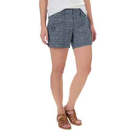 Marmot Ginny Shorts - UPF 30 (For Women) in Arctic Navy Ikat - Closeouts