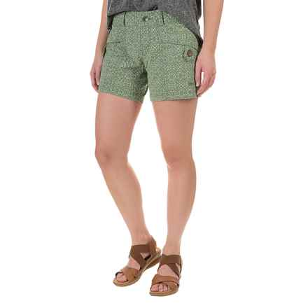 Marmot Ginny Shorts - UPF 30 (For Women) in Stone Green Ikat - Closeouts