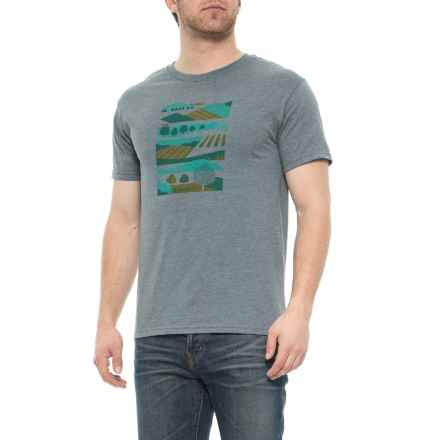 7a2fe840880 Marmot Giving Tuesday T-Shirt - Short Sleeve (For Men) in Grey Heather
