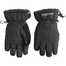 Marmot Glade Gloves - Waterproof, Insulated (For Little and Big Boys) in Black - Closeouts