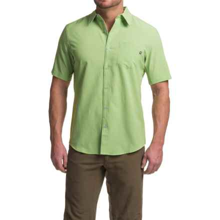 Marmot Goat Peak Shirt - UPF 20, Short Sleeve (For Men) in Celery - Closeouts