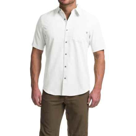 Marmot Goat Peak Shirt - UPF 20, Short Sleeve (For Men) in White - Closeouts