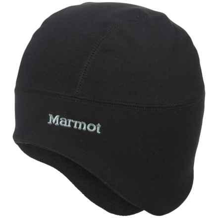 Marmot Gore Windstopper® Polartec® Power Stretch Pro® Beanie (For Men and Women) in Black - Closeouts