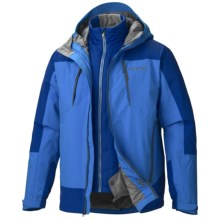 Marmot Gorge Component Jacket - Waterproof, 3-in-1 (For Men) in Cobalt Blue/Bright Navy - Closeouts