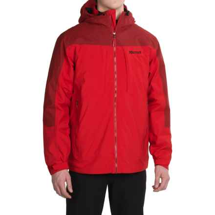 Marmot Gorge Component Ski Jacket - 3-in-1, Waterproof, Insulated (For Men) in Team Red/Dark Crimson - Closeouts