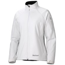 Marmot Gravity Jacket - Soft Shell (For Women) in White - Closeouts