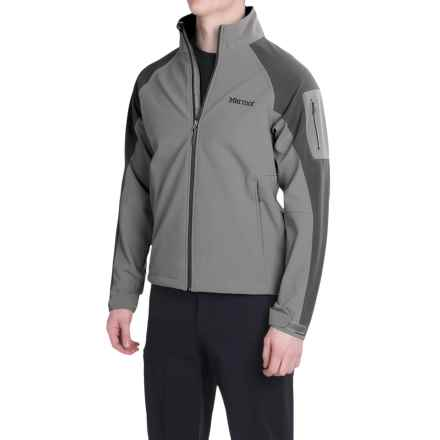 Marmot Gravity Soft Shell Jacket (For Men) in Cinder/Slate Grey - Closeouts