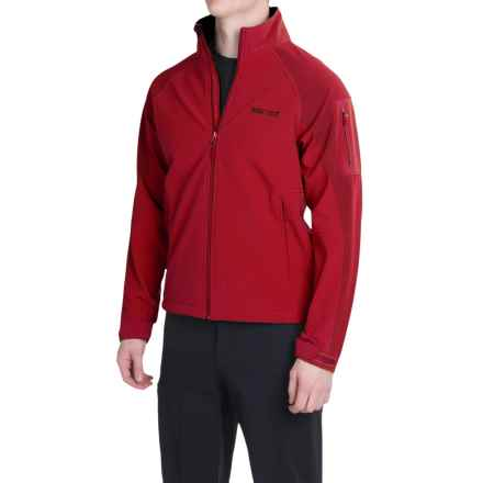 Marmot Gravity Soft Shell Jacket (For Men) in Team Red/Brick - Closeouts