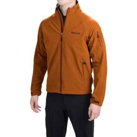 Marmot Gravity Soft Shell Jacket (For Men) in Terra - Closeouts