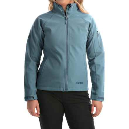 Marmot Gravity Soft Shell Jacket (For Women) in Blue Steel - Closeouts