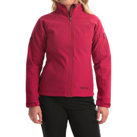 Marmot Gravity Soft Shell Jacket (For Women) in Dark Raspberry