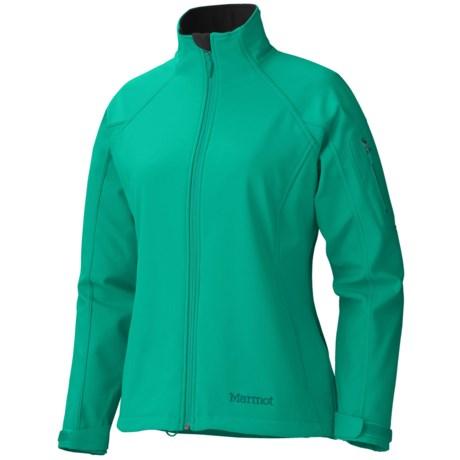 Marmot Gravity Soft Shell Jacket (For Women) in Lush