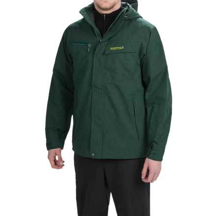 Marmot Great Scott Jacket - Waterproof (For Men) in Deep Forest - Closeouts