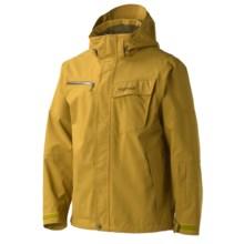 Marmot Great Scott Jacket - Waterproof (For Men) in Green Mustard - Closeouts