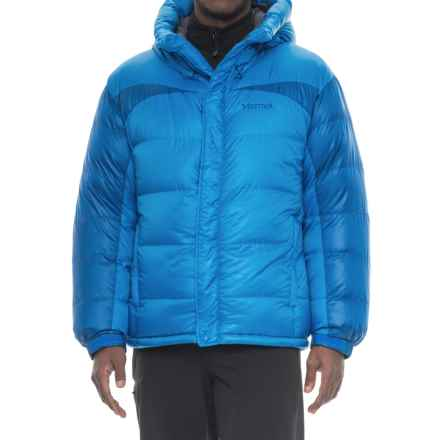 Marmot Greenland Baffled Down Jacket - 800 Fill Power (For Men) in Clear Blue/Dark Cerulean - Closeouts