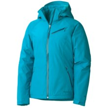 Marmot Grenoble Gore-Tex® Ski Jacket - Waterproof, Insulated (For Women) in Aqua Blue - Closeouts
