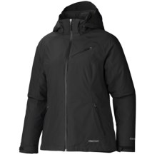 Marmot Grenoble Gore-Tex® Ski Jacket - Waterproof, Insulated (For Women) in Black - Closeouts