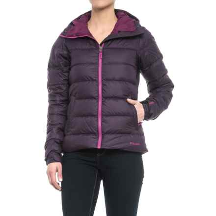 Marmot Guides Down Hoodie Jacket - 700 Fill Power (For Women) in Nightshade - Closeouts