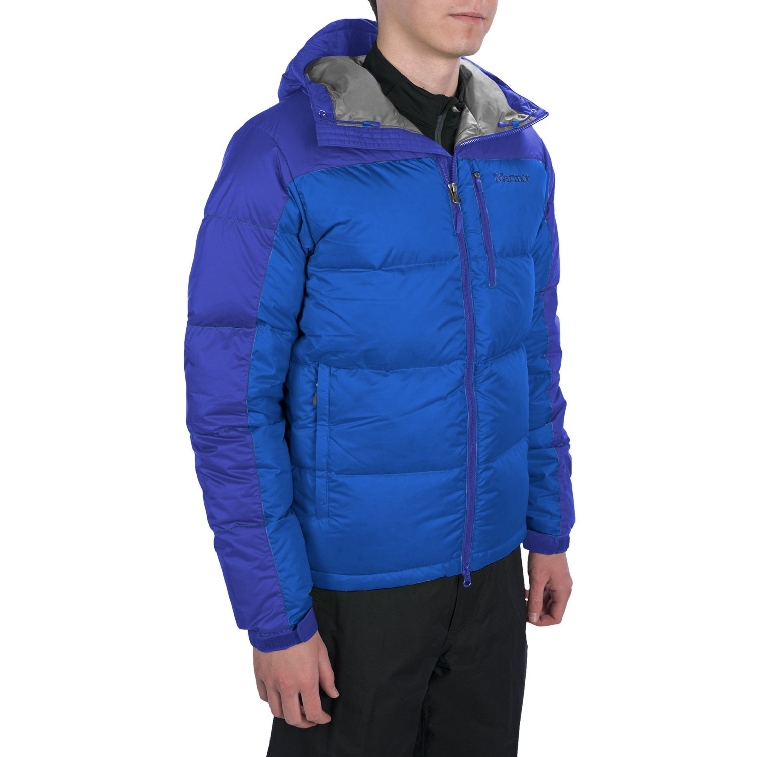 Marmot Guides Down Hoody Jacket - 650 Fill Power (For Men) in Blue