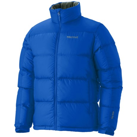 Marmot Guides Down Jacket - 650 Fill Power (For Men) in Cobalt Blue