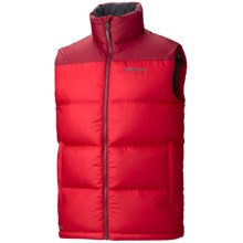 Marmot Guides Down Vest - 600 Fill Power (For Men) in Team Red/Brick - Closeouts