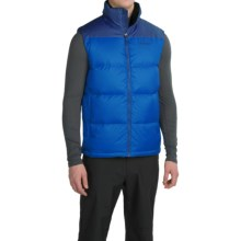 Marmot Guides Down Vest - 700 Fill Power (For Men) in Cobalt Blue/Blue Night - Closeouts