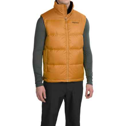 Marmot Guides Down Vest - 700 Fill Power (For Men) in Golden Bronze - Closeouts