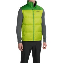 Marmot Guides Down Vest - 700 Fill Power (For Men) in Vermouth/Rain Forest - Closeouts