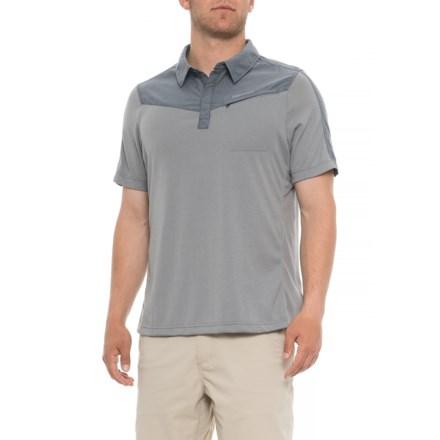 6a90ee9b Marmot Gulch Polo Shirt - Short Sleeve (For Men) in Grey Storm/Steel
