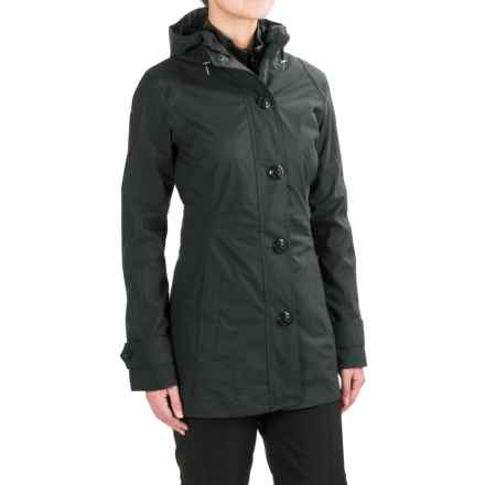Marmot Gwyn Rain Jacket - Waterproof (For Women) in Black - Closeouts