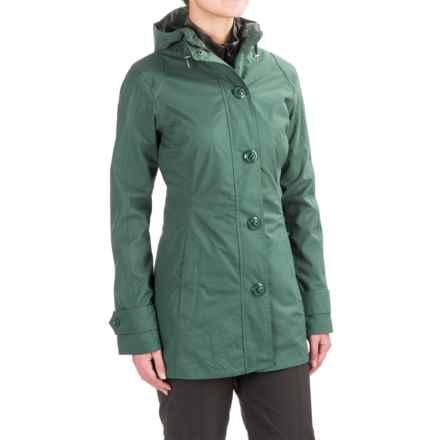 Marmot Gwyn Rain Jacket - Waterproof (For Women) in Burnished Green - Closeouts